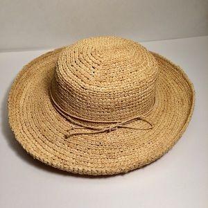 Pantropic Straw Hat Light Color - Festival Sun